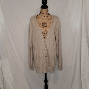 Grace Elements Long Cardigan Sweater XXL
